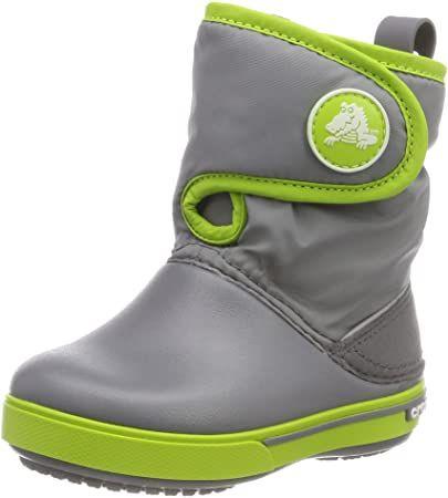 Crocs Unisex-Kinder Crocband Ii.5 Gust Boot Kids Schneestiefel