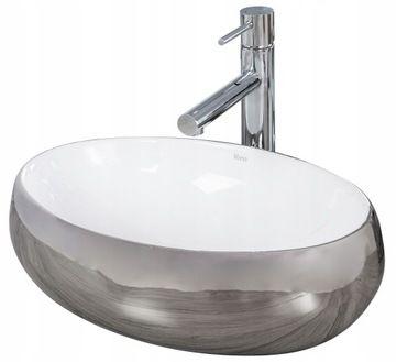 Umywalki Do łazienki I Toalety Umywalka Owalna Nablatowe