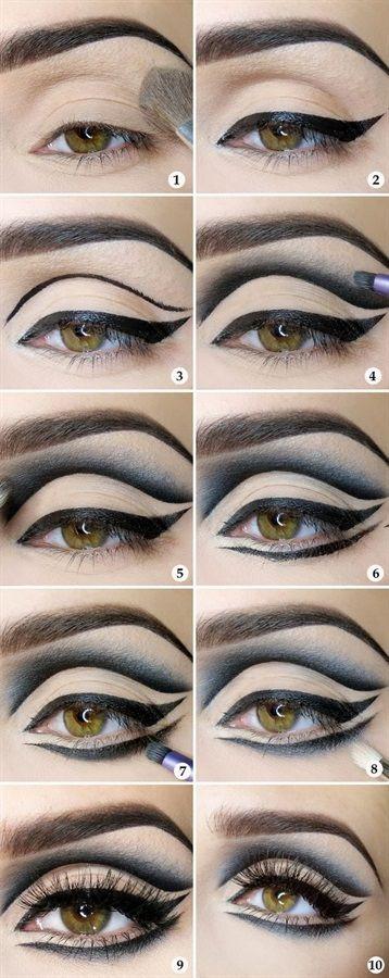 40+ Modi per mettere l eyeliner ideas