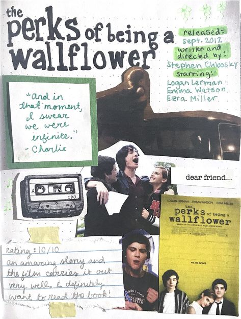 the perks of being a wallflower // film journal