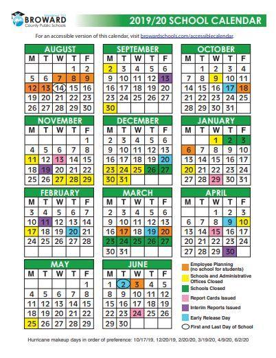 Broward Schools Calendar School Calendar How To Cook Rice
