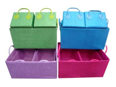 Glitter Rectangle Storage Baskets Michaels With Images