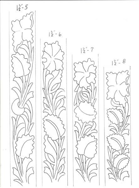 graphic regarding Free Printable Leather Belt Tooling Patterns referred to as Becca Rittberger (beccarittberger) upon Pinterest