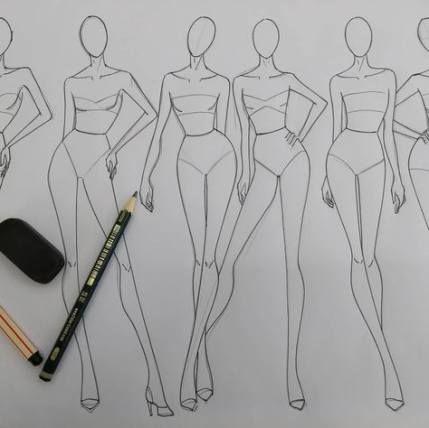 53+ ideas drawing figure tutorial fashion design #fashion #drawing
