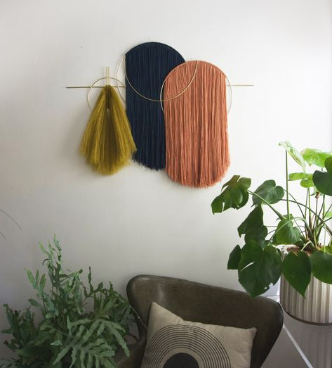 Waveforms Oversized Wall Hanging — Attalie Dexter Home + Accessories