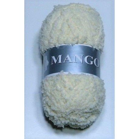 10 pelotes laine peluche // fabriqué en FRANCE mango couleur : lin
