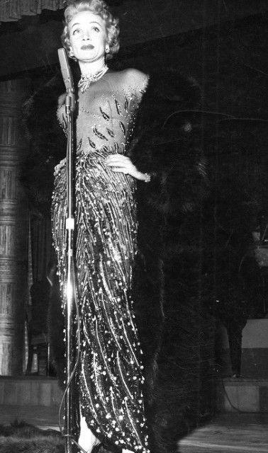 Marlene Dietrich Marlene Dietrich Los Angeles Azules Fotos