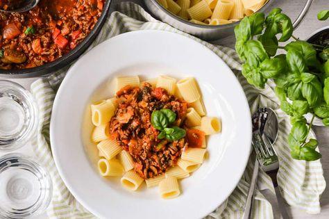 lasagne met italiaanse roerbakgroenten