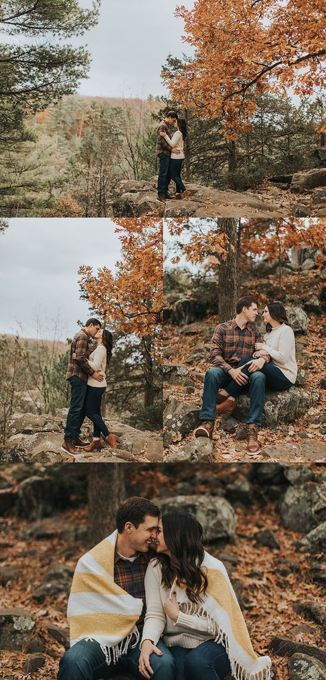 Fall Engagement Photos Fall Engagement Photos Autumn engagement session in Taylors Falls, MN, what to wear for fall engagement photos, cozy engagement session ideas, engagement pictures ideas<br> Fall Engagement Outfits, Fall Engagement Shoots, Engagement Photo Outfits, Engagement Photo Inspiration, Engagement Couple, Engagement Session, Autumn Engagement Photos, Engagement Nails, Winter Engagement