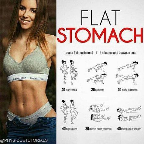 Flat Stomach Workout | #1stInHealth #WomensFitness #Workout #FitnessWorkout #WomensWorkout #Exercise #Training