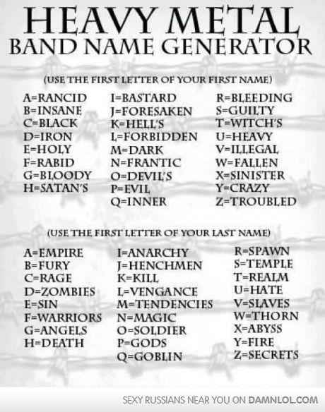 Biker name generator