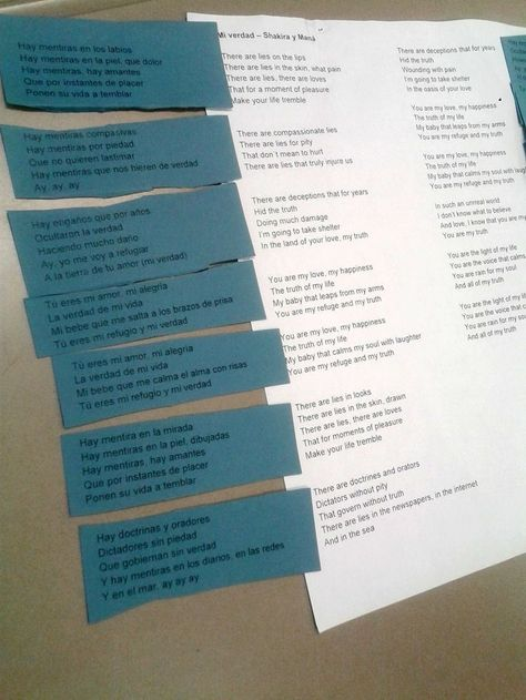 10 Ways to Use a Song in Spanish Class