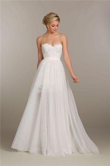 very pretty chiffon wedding dress | Lol weddings | Pinterest ...