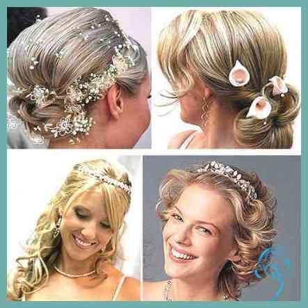 Brautfrisuren Mittellanges Haar Haar