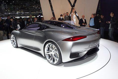 2012 Infiniti Emerge-E concept car