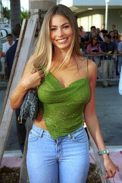 Sofia Vergara Green Tops - Beautiful Celebrity