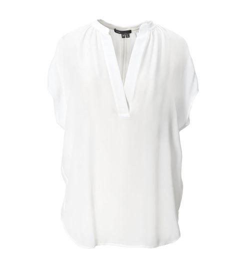 be505475aa975f Vince - Cap Sleeve Silk Popover Blouse    Tops    Women s Apparel    Womens     Oak Hall