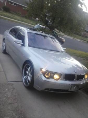 Make BMW Model 745Li Year 2003 Exterior Color White Interior Black Vehicle Condition Excellent Price 14000 Mileage158000 Mi Fue