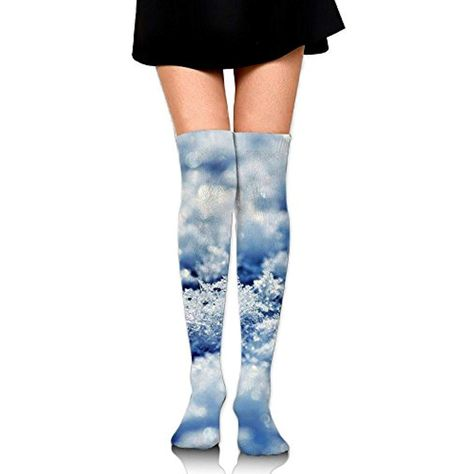 b2c5f4f2268 PengMin Cute Ice Flowers Cotton Compression Socks For Women. Graduated  Stockings For Nurses