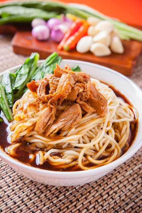 Resep Mie Ayam Solo : resep, Noodles