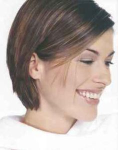 Bob Hairstyles Tucked Behind Ears Hairstyle Short Hair With Layers Formal Hairstyles For Short Hair