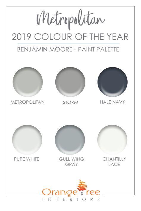 2019 Color of the Year   Benjamin Moore - METROPOLITAN