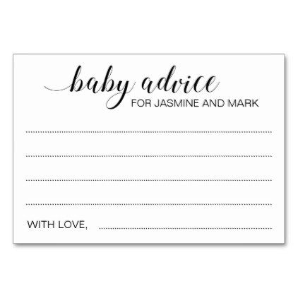 New Pas Baby Shower Guest Book