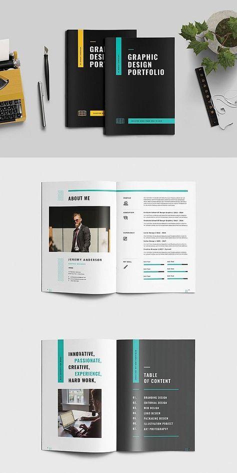 #portfolio#brochure#template#indesign  Graphic Design Portfolio