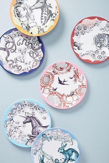 Whimsical Melamine Dinner Plate
