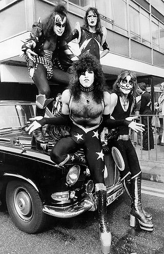 Kiss. Went to a concert Halloween night in Kansas City mid 70ish!!  It was wild !!!