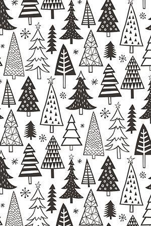 Arbolitos Christmas Tree Drawing Christmas Tree Wallpaper Christmas Doodles