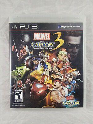Marvel Vs Capcom 3 Ps3 Playstation 3 Complete Ps4 Gaming Video Marvel Vs Marvel Vs Capcom Marvel