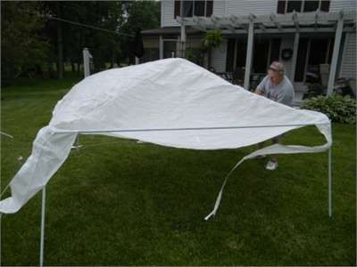 Rite Aid 9 X9 Home Design Lawn And Party Gazebo Instructions Fixya Party Gazebo White Gazebo Gazebo Tent