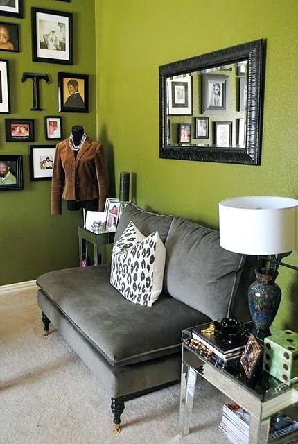 Eye For Design Olive Green Interiors Grey Decor Luxury Decor Grey Interior Design