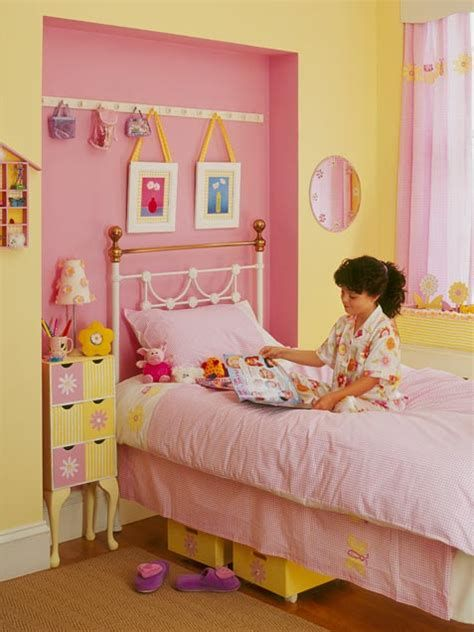yellow and pink bedroom ideas pink and yellow room photos of ...