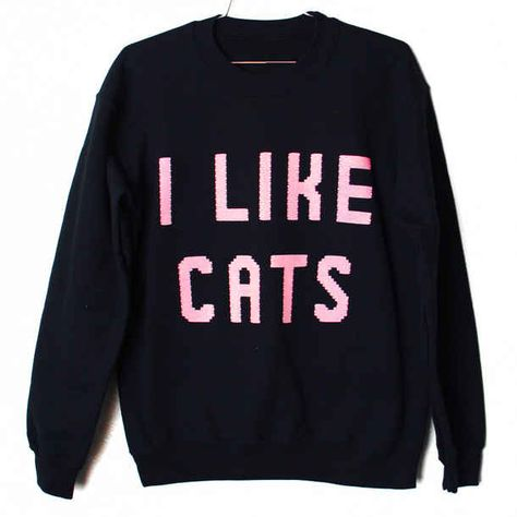 This was a tough call, to go in the cats section or the clothes list. Because cats trump clothes ALWAYS, I suppose kitties it is.