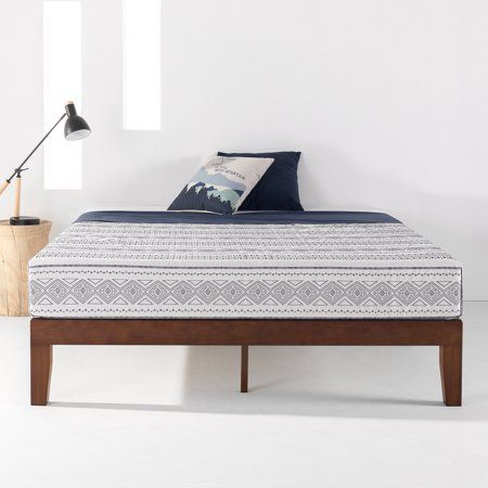 Home Solid Wood Platform Bed Bed Frame Wood Platform Bed