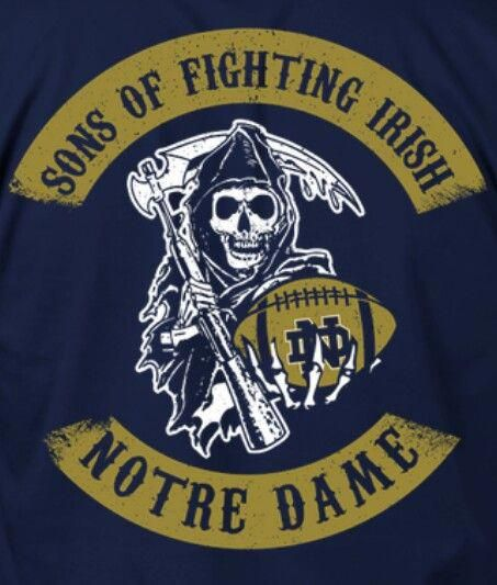 Notre Dame Football #wallpapermuralsblue