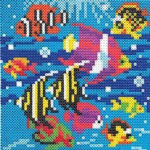 Summer Perler Bead Patterns | Pärlor barn | Perler beads