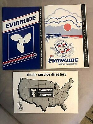 Advertisement Ebay Evinrude Outboard 1979 1980 Owners Manuals 4 5 9 9 15 Hp Models Director Owners Manuals Outboard Parts And Accessories