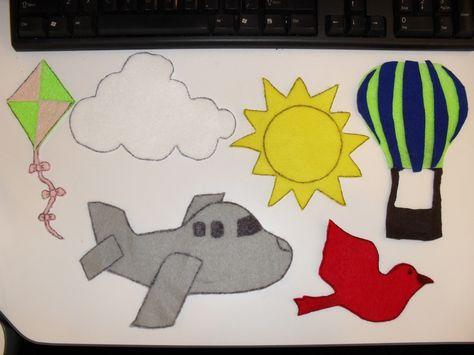 Librarian vs. Storytime: Kite I Spy Flannel Board Game