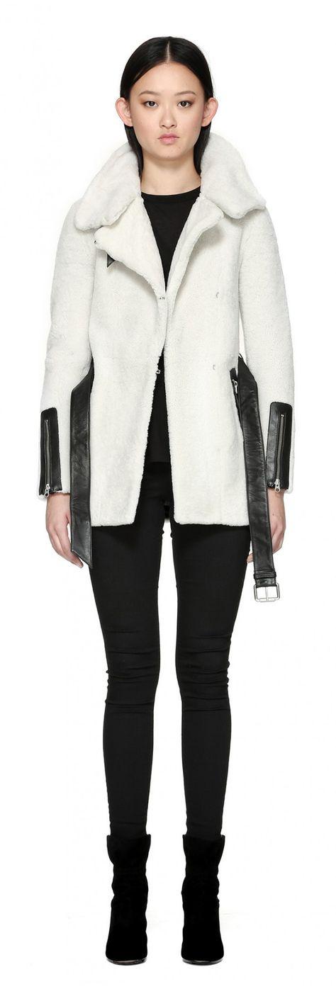 Mackage - Manteau en laine Kinsley disponible en taille TTP - prix régulier 1 290,00$