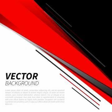 Fundo De Banner De Geometria De Fragmento Vermelho De Sombreamento Preto Red Background Red And Black Background Vector Art Design