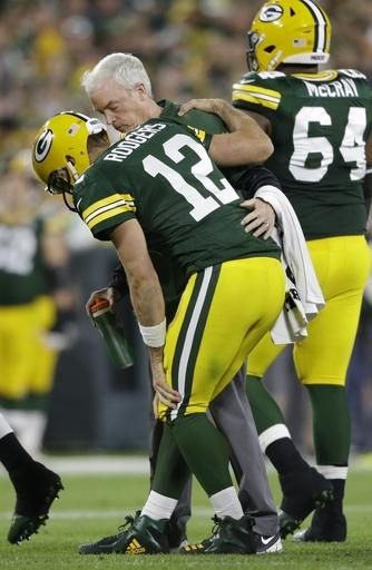 Packers Aaron Rodgers Returns After Knee Injury Aaron Rodgers Knee Injury Aaron Rodgers Injury