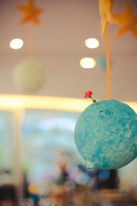 Festa // Ideias // Decoração // Tema: O Pequeno Príncipe // Le Petit Prince // ♥