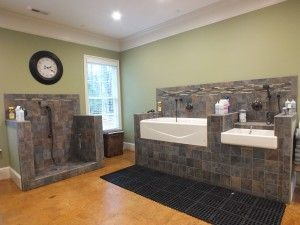 Liking The Setup, Though Iu0027d Only Have 2 Tubs, The Walk In For Large And  The Medium For Smaller Breeds. | Salon | Pinterest | Tubs, Spaces And Dog