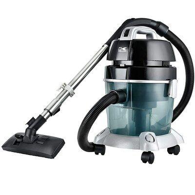 Kalorik Pure Air Water Filtration Bagless Canister Vacuum Color Gray Canister Vacuum Canister Vacuum Cleaner Vacuum Cleaner