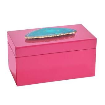 Agate Lacquered Jewelry Box In 2020 Crystal Jewelry Box Wooden Jewelry Boxes Ballerina Jewelry Box