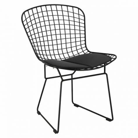 Designerskie Krzeslo Harry To Projekt Inspirowany Diamond Ch