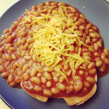 recipe: beans on toast with cheese [32]
